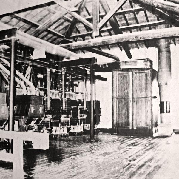 Foto storica del Mulino di Macinazione Lendinara