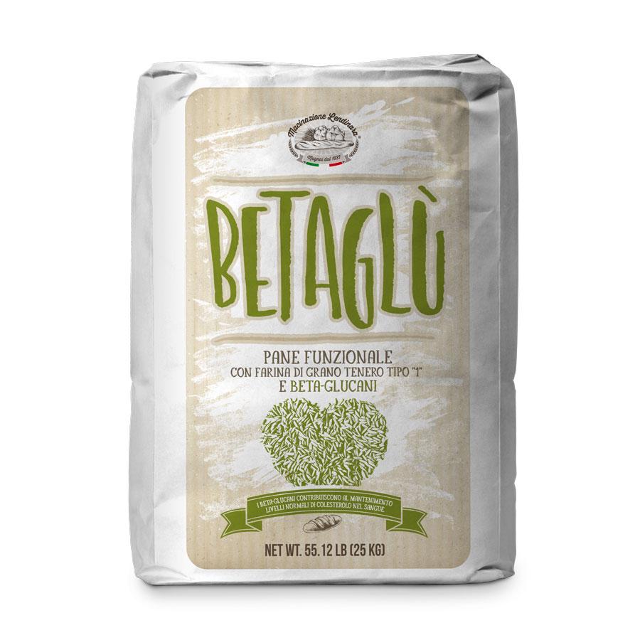 Betaglù Farina con betaglucani funzionale per pane